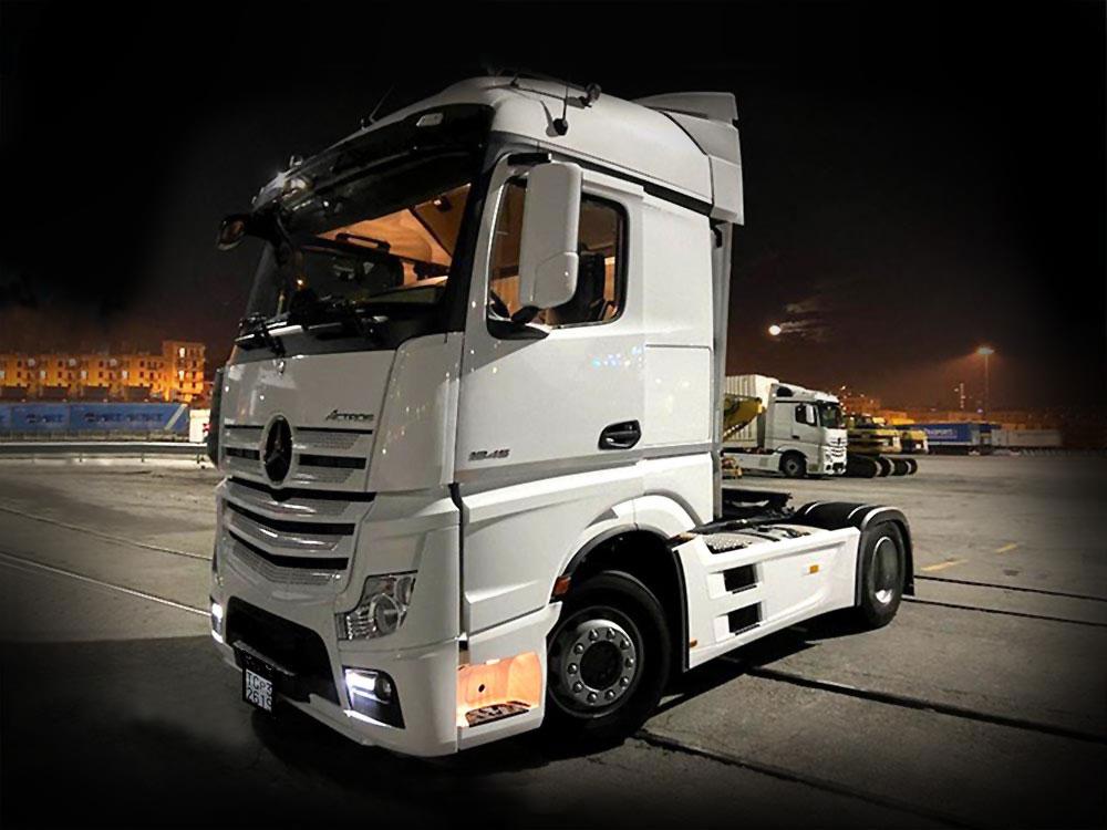 tranchina trasferimento veicoli industriali